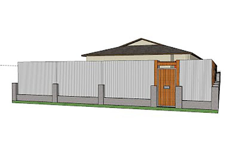 Residential Fence Design